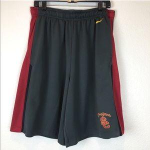Nike Dri Fit USC Trojans Athletic Training Shorts